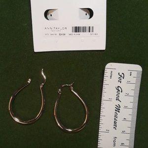 ANN TAYLOR Hoop earings